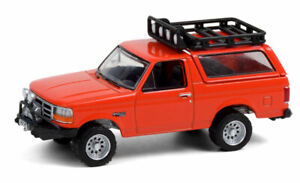 GREENLIGHT #35190 ORANGE 1995 FORD BRONCO SPORT *PRESALE*