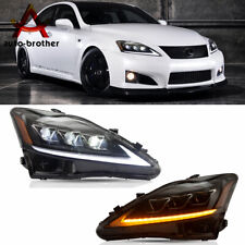 Full LED Projector Headlights Fit For LEXUS IS250 350 ISF 2006-2012 Front Lamps
