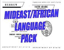 MIDEAST AFRICAN LANGUAGE DVD 7 LANGUAGES MP3 PDF BONUS