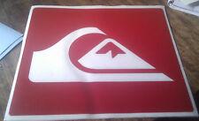 Quicksilver surfing skateboard snowboard car campervan sticker decal 100mm.