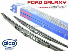 FORD GALAXY 1995-2001 windscreen WIPER BLADES 28''26'' TWIN PACK !!! HOOK ARM