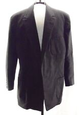 Andresen's Vtg Black Fine Pure Wool Tux Jacket Germany HHR 44 Highly Tailored