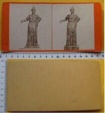 Stereophoto Firenze Museo Egiziano- Minerva n. 4428 - Ed. Brogi metà '800