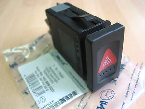 MEYLE Hazard Warning Switch and Relay for VW Passat 3B 1997 to 2005  3B0953235D