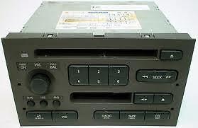 """SAAB 9-5 1999-2005 OEM RADIO CASSETTE/CD """"DIVORCED"""" PART# 5038138"""