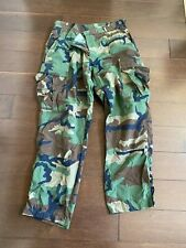 Military Camo Camoflauge Trousers Green Medium Short