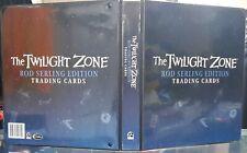 Twilight Zone Rod Serling Edition - Official Binder/Album inc P3 P1 Promo Cards