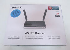 D-Link DWR-921 3G 4G LTE SIM Slot 10/100 LAN WiFi Wireless N Router 2x Antennas