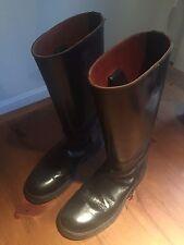 Stylish Black Ann Demeulemeester Boots, Size 9
