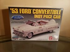 VINTAGE Lindberg '53 Ford Convertible Indy Pace Car 1/25 New Sealed Kit 72321