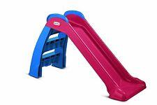 Slide Little Tikes First Red Blue Indoor Outdoor Kids Playground Toddler