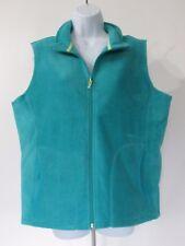 Woolrich Plus Size Full Zip Soft Lightweight Fleece Vest sz 3XL (24-26)