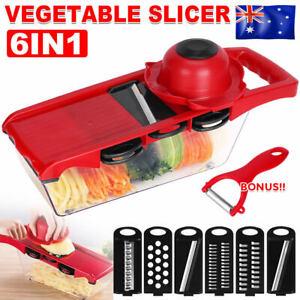Multifunction Manual Vegetable Slicer Mandolin Grater Cutter Fruit Salad Chopper
