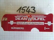 10x ALBEDO Ersatzteil Ladegut Koffer bedruckt Jean Wölfel Nürnberg H0 1:87- 1543