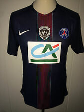 Ben Arfa PSG Coupe de France'17 match worn issued shirt france maillot 100 years