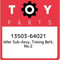 13503-64021 Toyota Idler sub-assy, timing belt, no.2 1350364021, New Genuine OEM