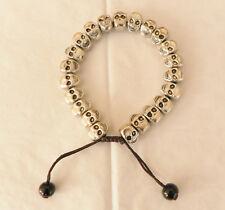 New Tibet Silver Skull Bracelet