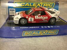 Brand New Scalextric Ford RS200 Belga No5 C3637