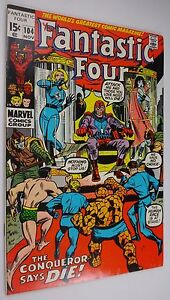 FANTASTIC FOUR #104 Magneto  Glossy 9.0