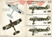 STAMPA Scala 1/72 Aces of the Legion Condor PARTE 1 #72258