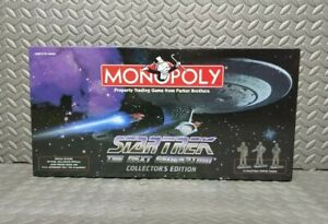 Star Trek The Next Generation Monopoly Collector's Edition 1998 New. open box.