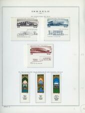 ISRAEL Marini Specialty Album Page Lot #66 - SEE SCAN - $$$