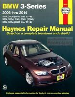 BMW SHOP MANUAL SERVICE REPAIR BOOK HAYNES CHILTON 3-SERIES 06-14