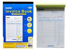 INVOICE Receipt Record BOOK 3-Part 30-Set Numbered Original Duplicate Carbonless