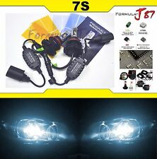 LED Kit 7S 50W 9007 HB5 6000K White Head Light Two Bulbs Dual Beam Upgrade Lamp