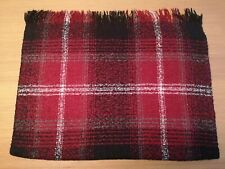 Red,Black and White ,Tartan style, Shawl