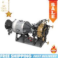 New MOC-26457 Building Blocks NASA Apollo Spacecraft Creative Series Toys Bricks