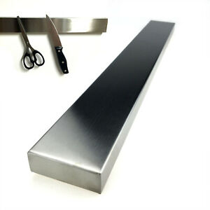 Edelstahl Messerhalter 40cm | Magnetleiste Messerblock | Magnet Messerleiste