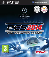 Pro Evolution Soccer 2014 PES 14 Game PS3 Sony PlayStation 3 PS3 Brand New