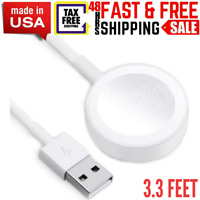 """""""Magnetic Charging Cable Pad Charger Wireless Chargers MK Access Smart Watch USB"""