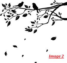 Tree Branch & Birds Art Vinyl Wall Transfer Sticker, DIY Wall Decal HIGH QUALITY