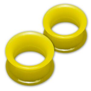 Flesh Tunnels Silicone Plugs Ear Piercing extra soft and flexible 1 pair