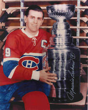 MAURICE RICHARD - TWO PHOTOS  ( M CANADIENS )  -  SIGNED   5 x 7  PHOTO REPRINTS