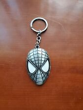 spiderman keychain metal in gold and silver and red