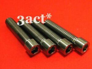 4 pcs - M8 x 35mm Allen Socket Head Titanium / Ti Bolt  - Grade 5, 6AL/4V