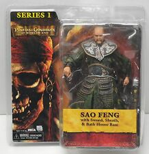 NECA Pirates of the Caribbean AWE SAO FENG Action Figure NIP  Chow Yun Fat