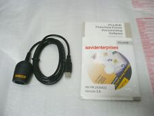 New Fluke FVF-SC2 logging software + IR-USB for 180/280-series, 789, 1550B, 1653
