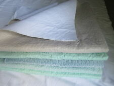 6 reclaimed, hospital washable, Pee Wee Pads, cats, dogs, Grade A, GREAT SHAPE