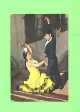 OO POSTCARD MEN & WOMAN BEAUTY ESPANA ESPAGNOL DANCER  POST CARD -2