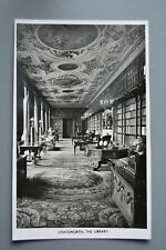 R&L Postcard: Chatsworth House Library, Antiquarian Books, Antique Furniture