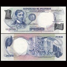 Philippines 1 Piso, 1969, P-142, Banknote, UNC-