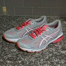 ASICS GT-1000 5 Running Shoes Women's Size 9.5 Mid Gray / White / Diva Pink