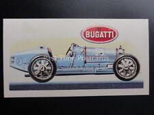 No.27 BUGATI GRAND PRIX TYPE 35B History of the Motor Car by Brooke Bond 1968