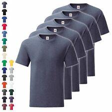 5er Pack Fruit of the Loom Iconic T Herren T-Shirt Mehrpack Größe S - 5XL NEU