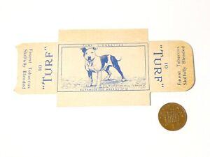 Carreras Turf Brand Card Dog Breeds No. 31 Staffordshire Bull Terrier w/Tabs