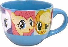 My Little Pony TV Series Characters Grid Logo 24 oz Ceramic Soup Mug